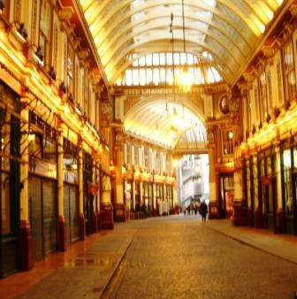 Leadenhall Market - Diagon Alley.