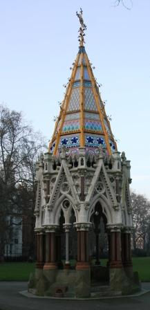 The Buxton Memorial Fountain.