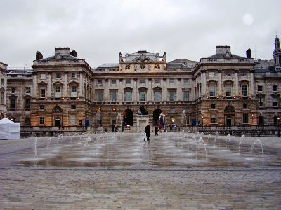 Somerset House on the Strand in London.